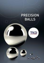 TKD Precision Balls - Corsairsarl.com