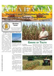 Grains of TruTh - Alabama Department of Agriculture and Industries