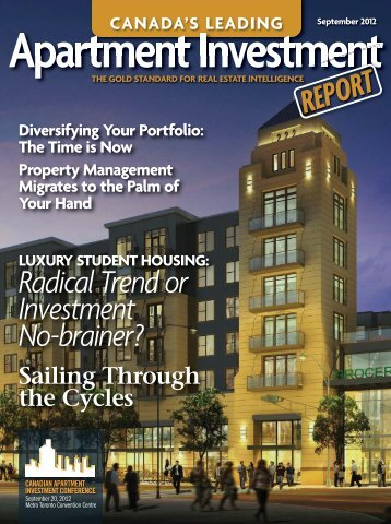 Full September 2012 issue (for download) - Real Estate Forums