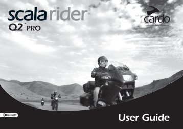 Er11 scala rider q2 user manual qg tspro 002 qg0xx. Indd cardo.