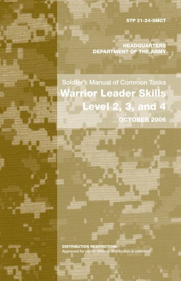 Warrior Leader Skills Level 2, 3, and 4 - Survival Books