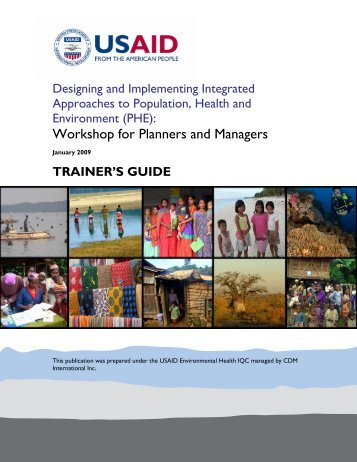 Integrated PHE Projects Workshop - Environmental Health at USAID