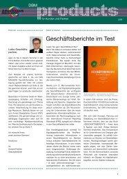 Editorial .............. Markt & Medien - Druckhaus Berlin-Mitte Gmbh