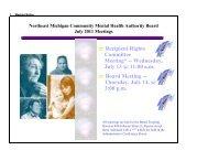 Wednesday, July 13 @ 11:00 am e Board Meeting - NEMCMH.org