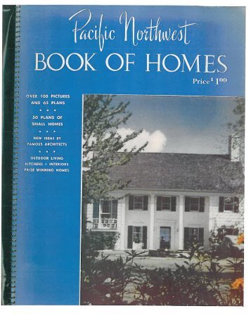Pacific Northwest Book of  Homes, (1947)