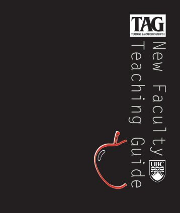 New Faculty Teaching Guide - Centre for Teaching, Learning and ...