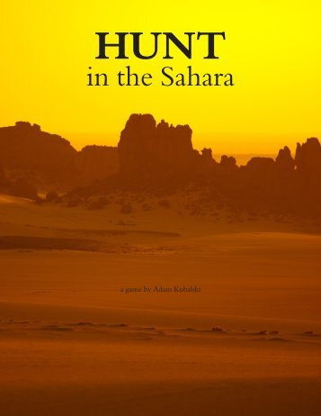 in the Sahara - DMA Classes