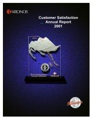 Kronos Customer Service - Omega Management Group