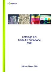 Catalogo dei Corsi di Formazione 2008 - Confindustria Genova