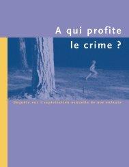 A qui profite le crime ? - Unicef