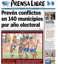 ¡ALEGRÍA EN PETÉN! ¡ALEGRÍA EN PETÉN! - Prensa Libre
