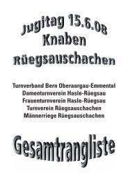 Jugitag Giele TBOE OV - BLV Nachwuchs