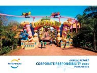 annual report corporate responsibility 2011 - PortAventura