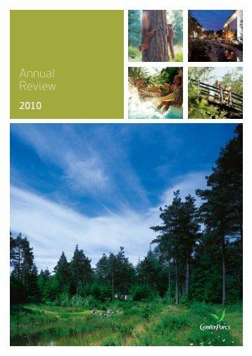 Annual Review - Center Parcs