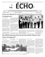 ECHOcantley. mars 02 - Echo of Cantley / Écho de Cantley