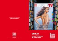 PDF-Download Tarife KRONE.TV - Kroneanzeigen.at