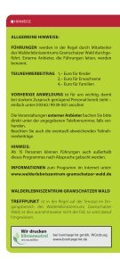 Walderlebniszentrum Gramschatzer Wald - Treffpunkt Wald - Seite 2