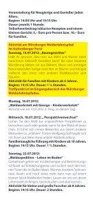 Walderlebniszentrum Gramschatzer Wald - Treffpunkt Wald - Seite 6