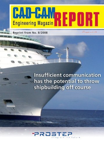 Insufficient communication in shipbuilding - Prostep AG