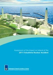 Assessment of the Impact on Ireland of the 2011 Fukushima Nuclear ...