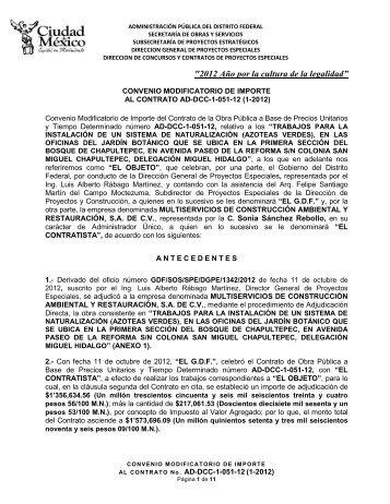 AD-DCC-1-051-12 - Secretaria de Obras y Servicios - Gobierno del ...