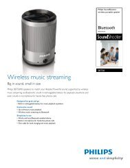 SBT50/00 Philips wireless portable speaker