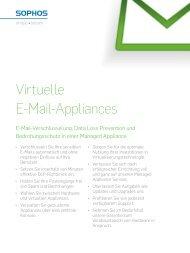 Virtual E-Mail Appliances