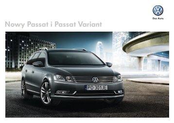 Passat limousine i variant - VW Passat