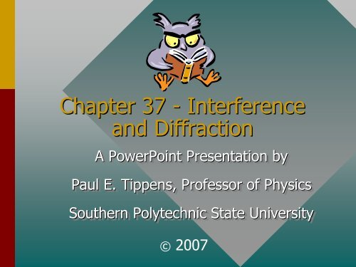 Interference And Diffraction Pdf