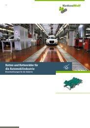 Ketten und Kettenräder für die Automobilindustrie - KettenWulf