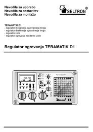 Regulator ogrevanja TERAMATIK D1