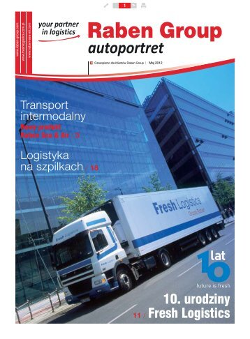 Raben Autoportret - PL version - 2012 - Raben Logistics Polska