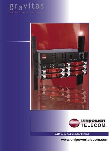 SABRE Series Inverter System - Critical Power Supplies