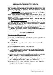 MEDICAMENTOS CONSTITUCIONAIS