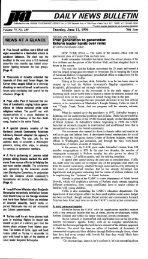 DAIL Y NEWS BULLETIN - JTA