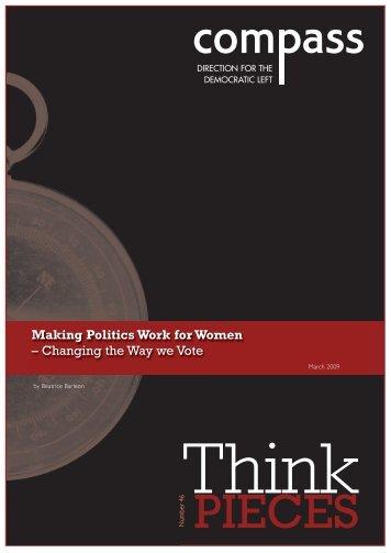 Making Politics Work for Women - clients.squareeye.com