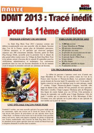 rallye - Moto Webzine