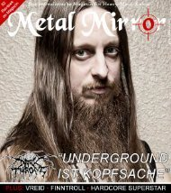 Darkthrone, Black Light Burns, Vreid, Vishnu, Finntroll ... - Metal Mirror