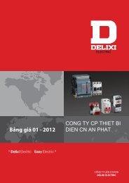 CONG TY CP THIET BI Bảng giá 01 - 2012 DIEN ... - Giacavattu.com