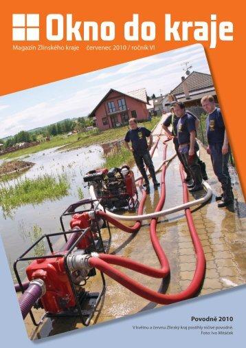 Povodně 2010 Magazín Zlínského kraje červenec ... - Okno do kraje