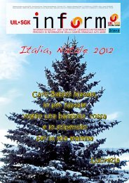 Italia, Natale 2012 - UIL SGK