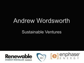Andrew Wordsworth - Renewable Energy Installer