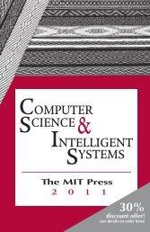COMPUTER SCIENCE INTELLIGENT SYSTEMS - MIT Press