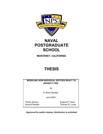 naval postgraduate school thesis proposal Naval postgraduate school monterey, california thesis transnational pipelines and naval expansion: examining china's oil insecurities in the indian ocean by corey s johnston june 2008 thesis co-advisors:.