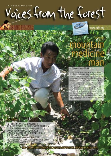 mountain medicine man - Non-Timber Forest Products Exchange ...
