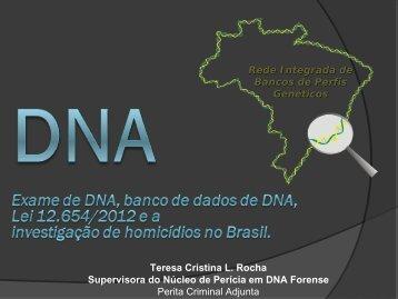Exame de DNA - Ministério Público do Estado do Ceará