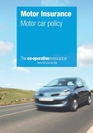 Motor Trade Elite Insurance Policy Underwritten By Qbe