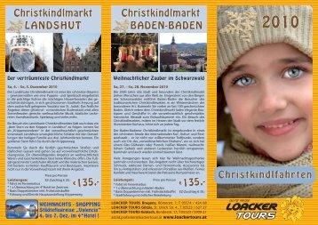Christkindlfahrten Christkindlmarkt Landshut Christkindlmarkt ...