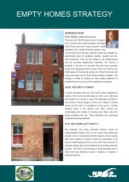 Empty Homes Strategy - South Somerset District Council
