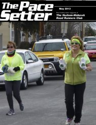 May 2013 - Hudson Mohawk Road Runners Club